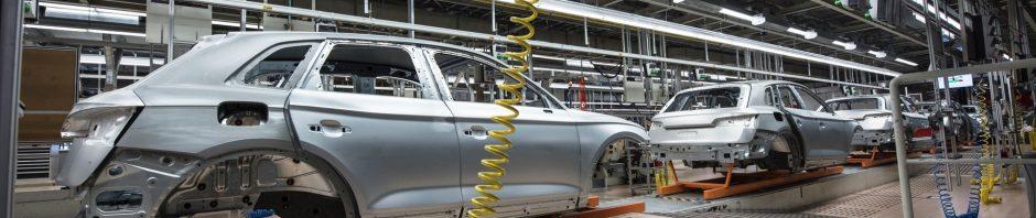 chaîne d'assemblage automobile